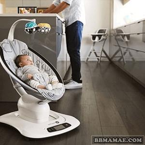 Locação MamaRoo 3.0 Plush Seat + BlueTooth - 4Moms