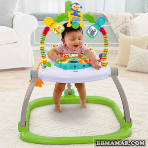 Alugar Jumperoo Rainforest Space Saver - Fisher Price